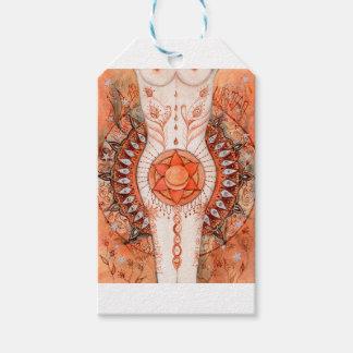 Étiquettes-cadeau Chakra sacré
