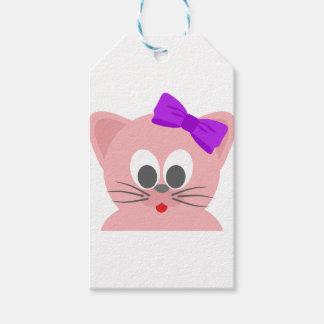 Étiquettes-cadeau Chat mignon 3