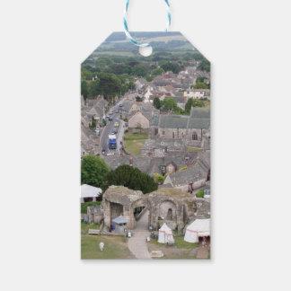 Étiquettes-cadeau Château de Corfe, Dorset, Angleterre