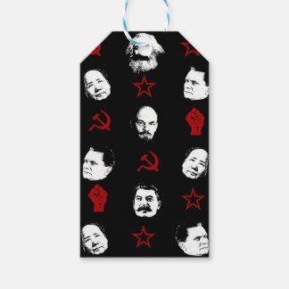 Étiquettes-cadeau Chefs communistes