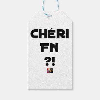Étiquettes-cadeau Chéri FN ?! - Jeux de Mots - Francois Ville