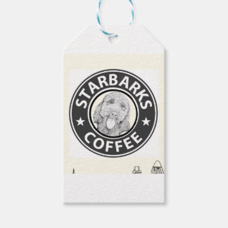 Étiquettes-cadeau chien Starbucks