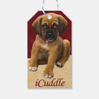 Étiquettes-cadeau Chiot mignon d'iCuddle