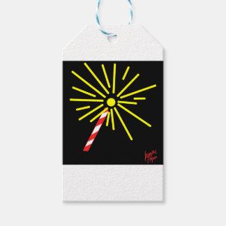 Étiquettes-cadeau Cierge magique 1