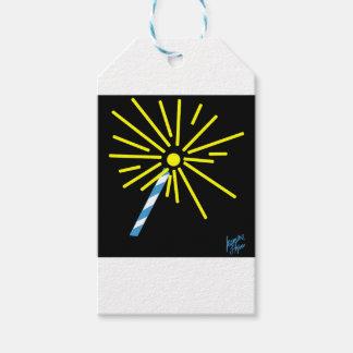Étiquettes-cadeau Cierge magique 2