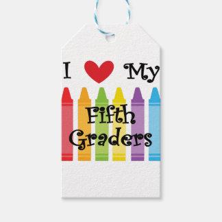 Étiquettes-cadeau Cinquième catégorie teacher2