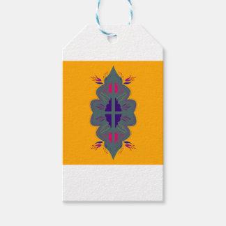 Étiquettes-cadeau Collection de T-shirts avec des mandalas