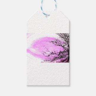 Étiquettes-cadeau Conception rose de forêt de Jane Howarth