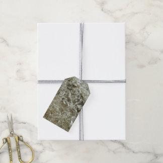 Étiquettes-cadeau Conception texturisée par nature glaciaire