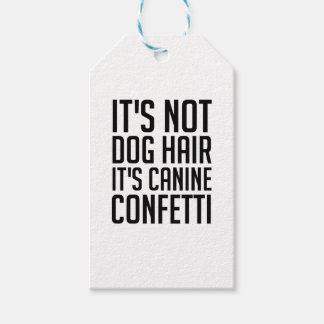 Étiquettes-cadeau Confettis canins