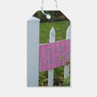Étiquettes-cadeau Cottage de plage