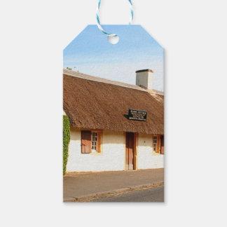 Étiquettes-cadeau Cottage de Robert Burns, Alloway, Ecosse