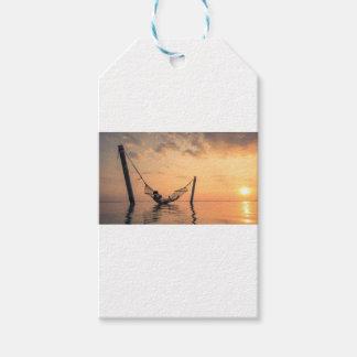 Étiquettes-cadeau Coucher du soleil de Bali