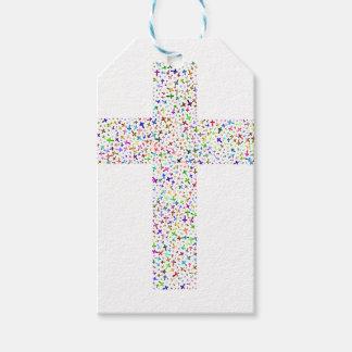 Étiquettes-cadeau Croix du Christ