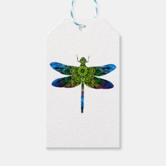 Étiquettes-cadeau dragonflyk52017