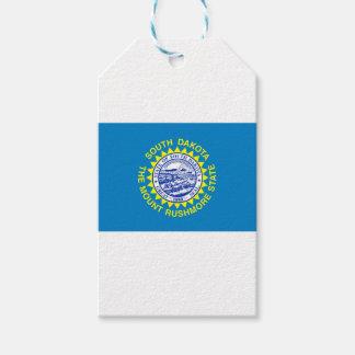Étiquettes-cadeau Drapeau du Dakota du Sud