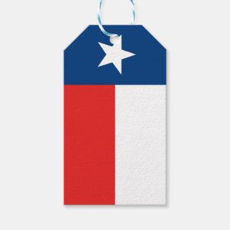 Étiquettes-cadeau Drapeau du Texas