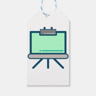 Étiquettes-cadeau Écran de visionnement