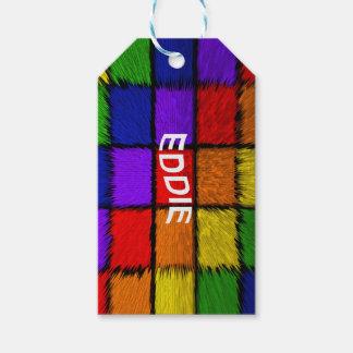 ÉTIQUETTES-CADEAU EDDIE