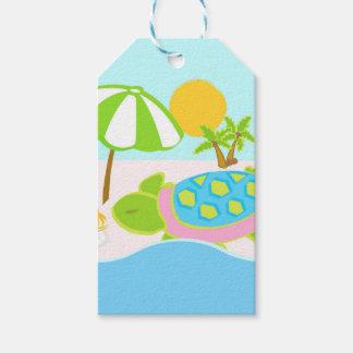 Étiquettes-cadeau Emballage cadeau de tortue de mer