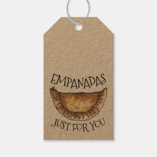 Étiquettes-cadeau Empanadas juste pour vous pâtisserie faite maison