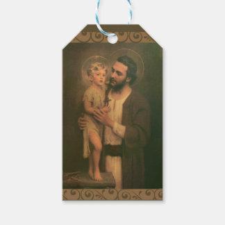 Étiquettes-cadeau Enfant Jésus de St Joseph