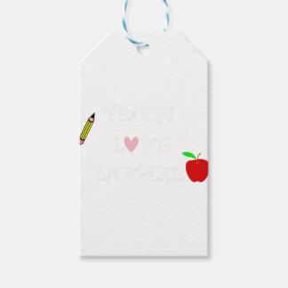 Étiquettes-cadeau enseignez l'amour inspire2
