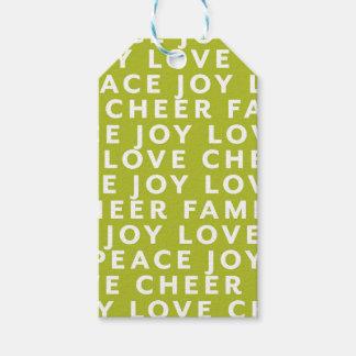 Étiquettes-cadeau Enveloppe d'étiquette de cadeau de Noël de