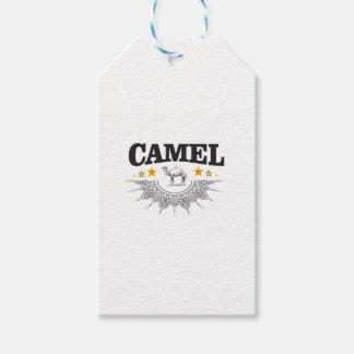 Étiquettes-cadeau étoiles du chameau