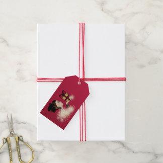 Étiquettes-cadeau Fée de Noël
