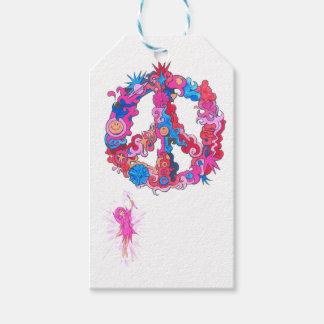 Étiquettes-cadeau Fée de paix