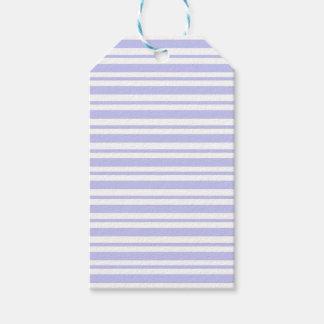 Étiquettes-cadeau Filet bleu-clair