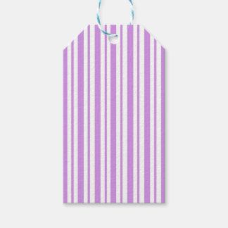 Étiquettes-cadeau Filet horizontal de lavande