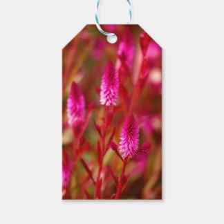 Étiquettes-cadeau Fleur en pastel