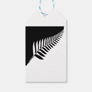 Étiquettes-cadeau Fougère argentée de la Nouvelle Zélande