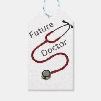 Étiquettes-cadeau Futur docteur le Dr.
