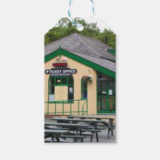 Étiquettes-cadeau Gare ferroviaire de montagne de Snowdon,