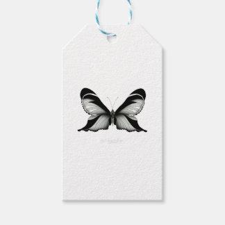 Étiquettes-cadeau Grand papillon de sauge de champ