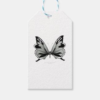 Étiquettes-cadeau Grand papillon sage de vulpin
