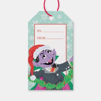 Étiquettes-cadeau Griffonnage de von Count Holiday de compte