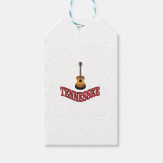 Étiquettes-cadeau Guitare du Tennessee