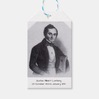 Étiquettes-cadeau Gustav Albert Lortzing