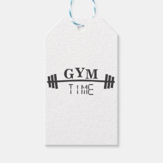 Étiquettes-cadeau Gym Time