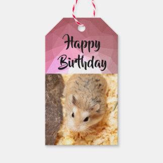 Étiquettes-cadeau Hammyville - hamster mignon