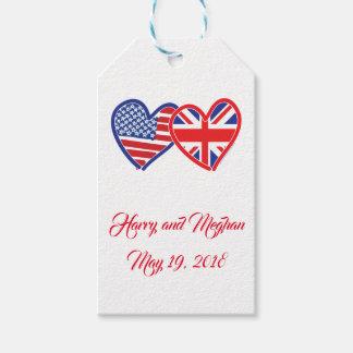 Étiquettes-cadeau Harry et Meghan