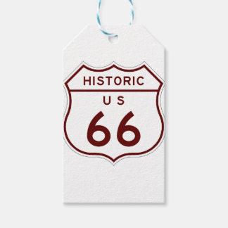 Étiquettes-cadeau historic66