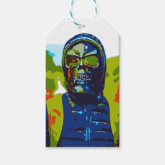 Étiquettes-cadeau Homme masqué