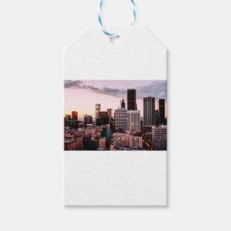 Étiquettes-cadeau Horizon de Los Angeles