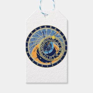 Étiquettes-cadeau Horloge astrologique de Prague