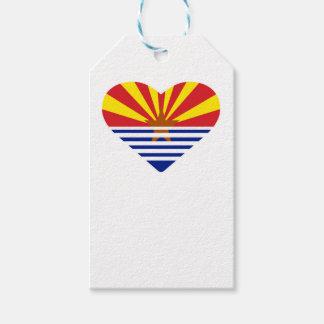 Étiquettes-cadeau I coeur Arizona